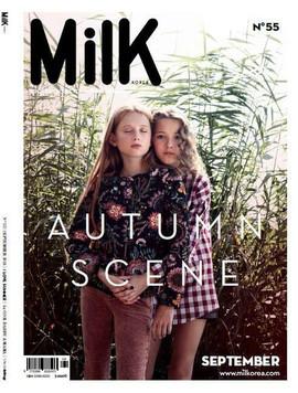 Pubblication: Milk Magazine - Photo by Nadja Pollack - Kids Model Tetje & Beaitrice