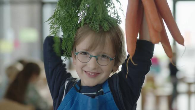 Ernährungsinitiative für Kinder: Ich kann kochen!