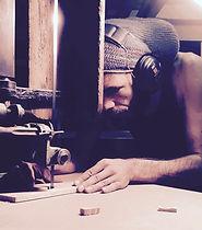 Holzverarbeitung Jurte