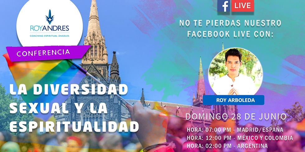 La diversidad sexual y la espiritualidad ¡Facebook Live!