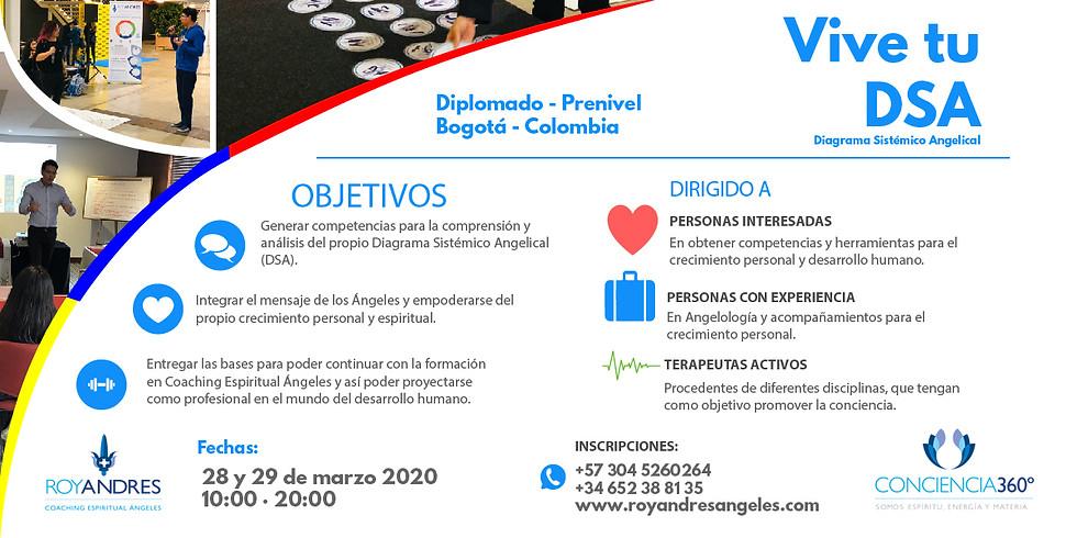 Diplomado Vive tu DSA (Diagrama Sistémico Angelical)