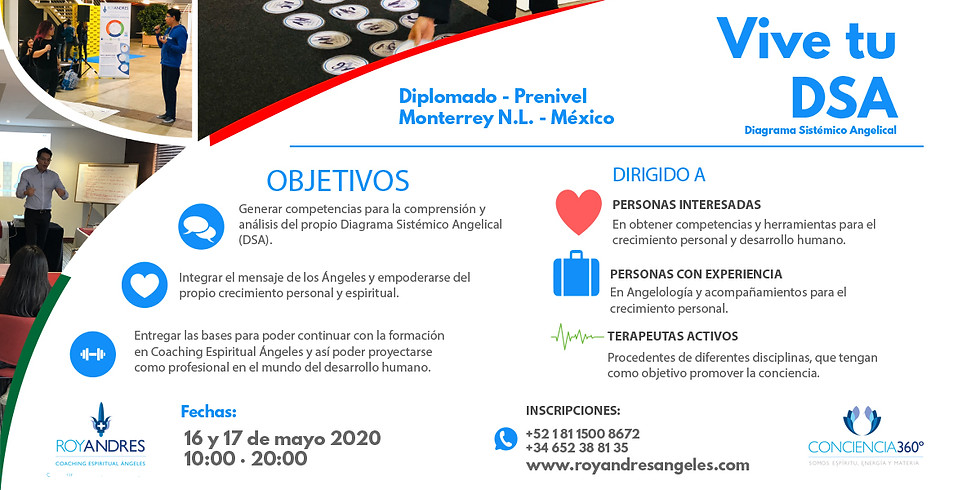 Diplomado Vive tu DSA (Diagrama Sistémico Angelical) México