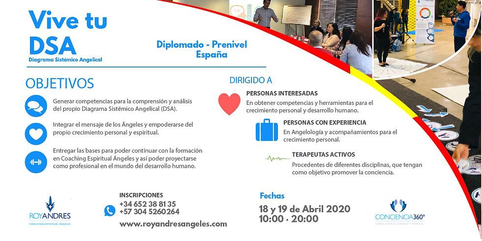 Diplomado Vive tu DSA (Diagrama Sistémico Angelical) España - Madrid