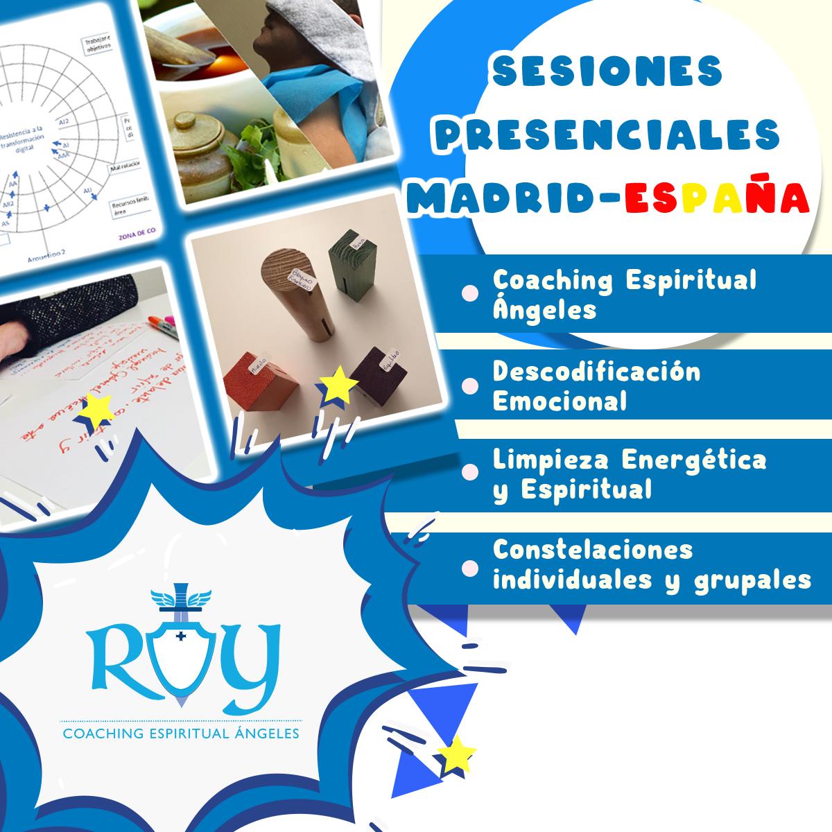 Sesiones presenciales Madrid