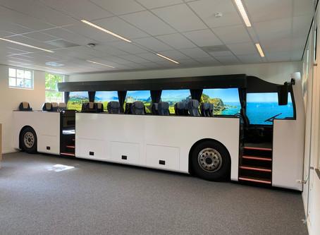 """Wat is een buslokaal zonder een """"echte"""" bus"""