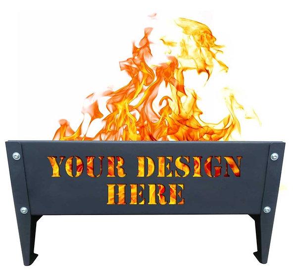 Ozlocka Plasma Cut custom design for Fire Pit