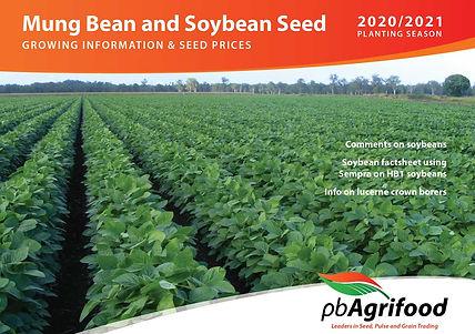Mungbean Soybean Price List & Grower Information 2020-21