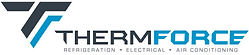Thermforce logo - refrigeration & air conditioning specialists