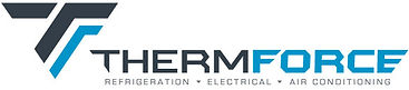 Thermforce logo - refrigeration, air conditioning specialists