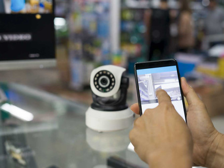 Security cameras - improve productivity and reduce theft