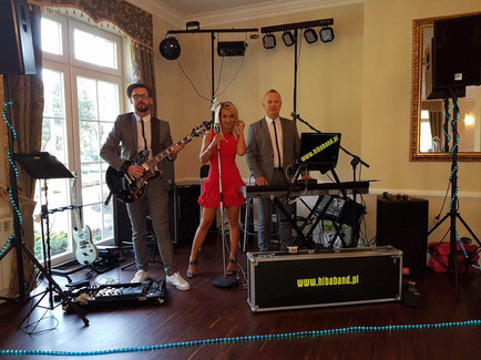 Hiba Band na scenie w Trio