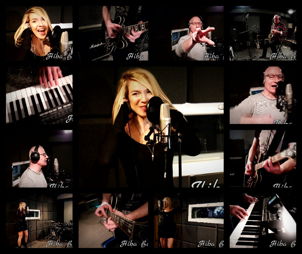 Hiba Band w studio 2