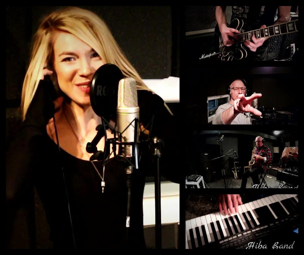 Hiba Band w studio