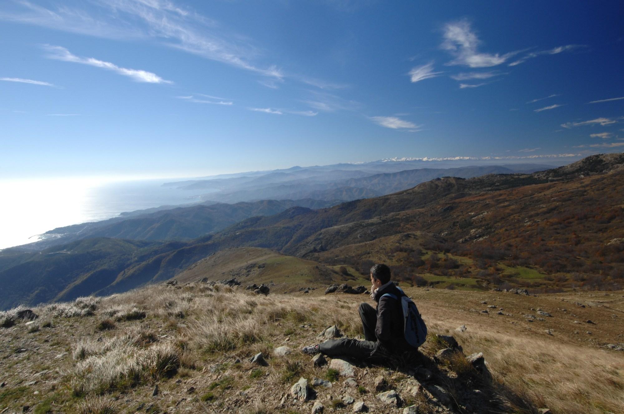 Monte Beigua summit