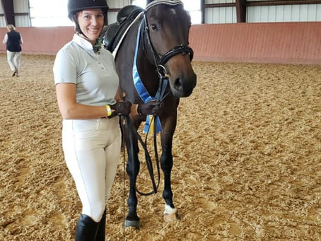 Mouse makes Premium at her Mare Inspection!!!