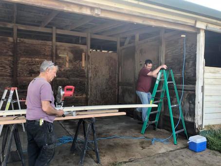 FSE Tack room expansion underway!