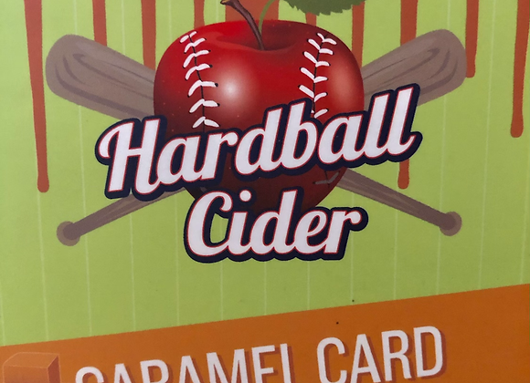 CARAMEL CARD- Caramel Apple Hard Cider (4pack 16oz cans)