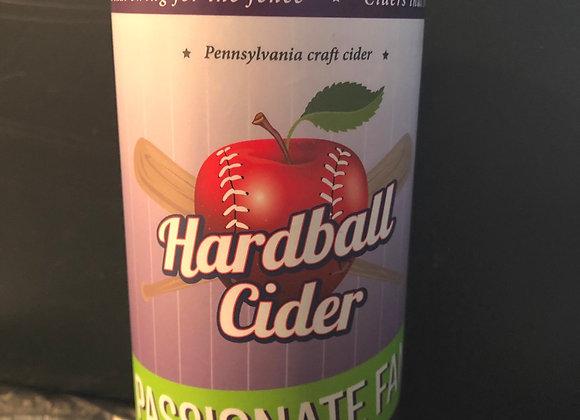PASSIONATE FAN Passion Fruit Cider (4 pack 16oz cans)