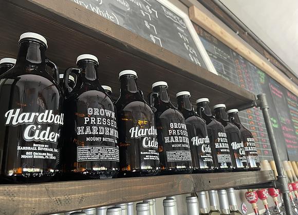 32oz growlers- Barrel Aged Cider