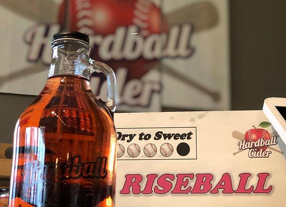 RISEBALL - Raspberry Cider (32oz growler)