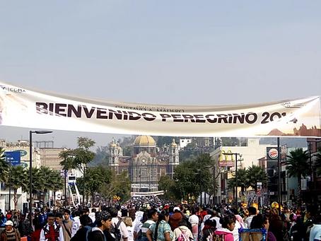 FÊTE DE LA VIERGE DE GUADALUPE À MEXICO