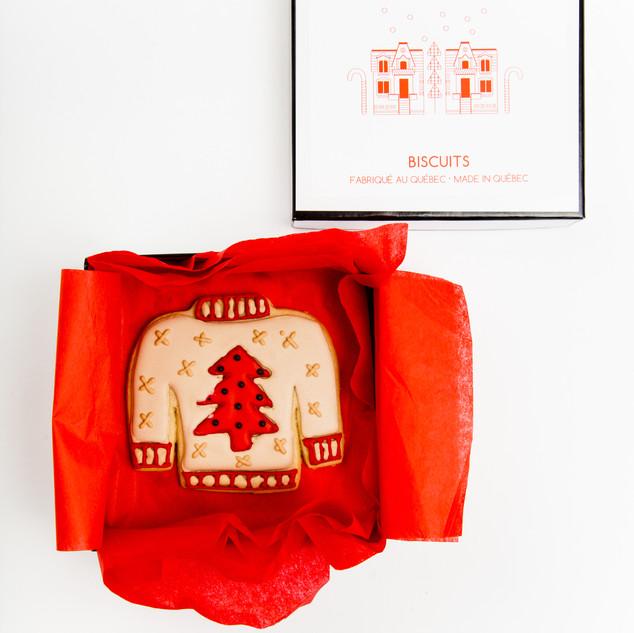 Chandail Laid de Noël 100% érable