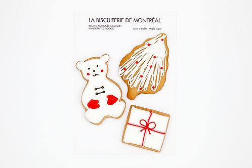 Paquet de 3 biscuits
