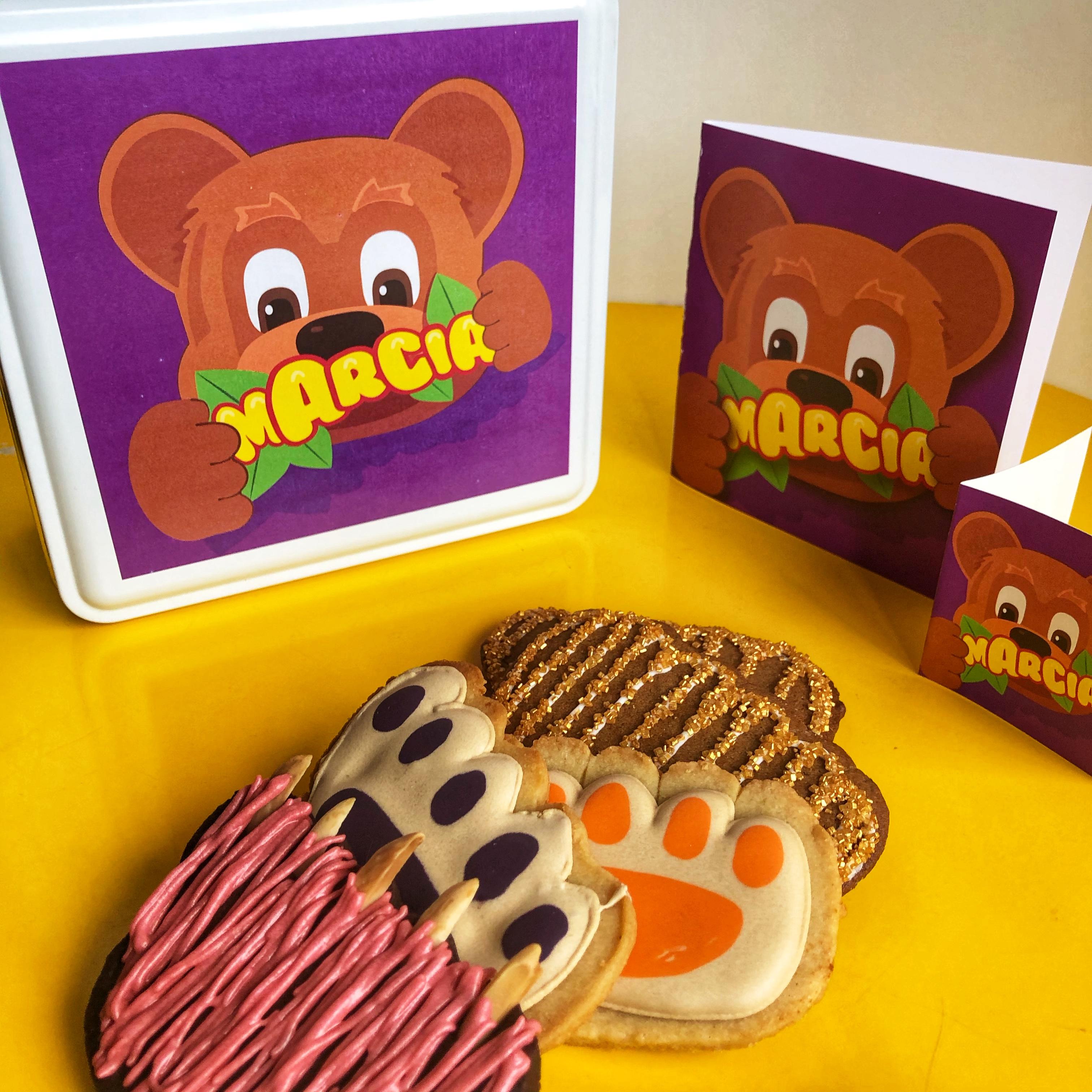 Cadeau Pattes d'ours