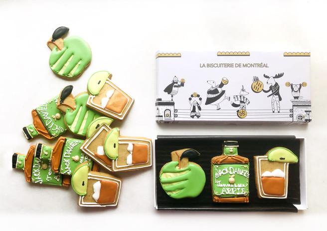 Jack Apple Promotional Cookies