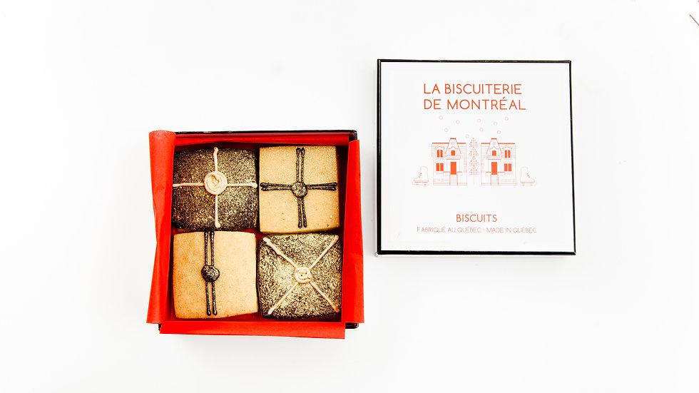 Cadeaux érable, chocolat et poudre d'or