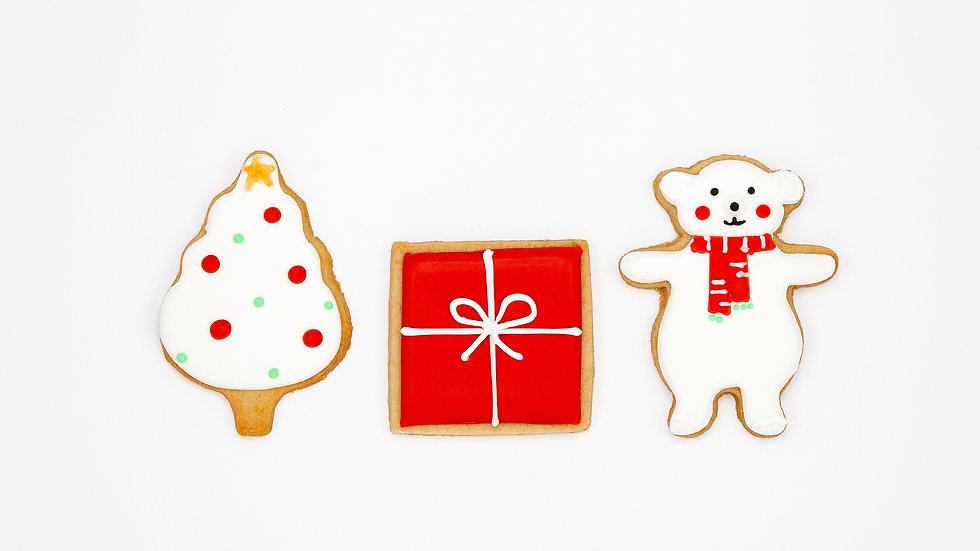 Boîte 3 gros biscuits