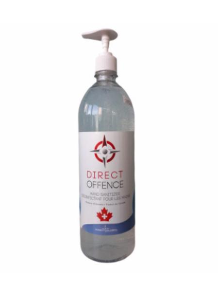 Direct Offence Hand Sanitizer 1L Pump Bottle