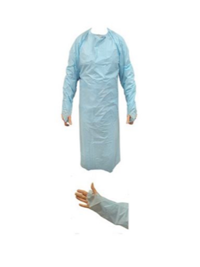 Disposable CPE Gown