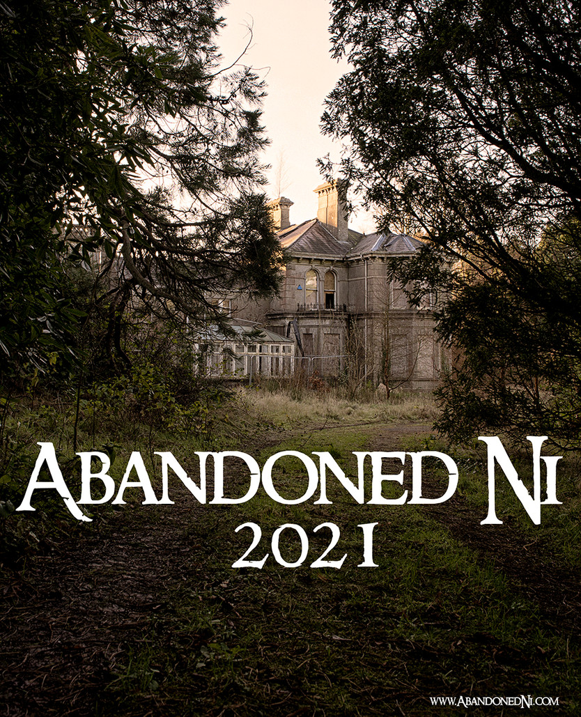 Abandoned Ni 2021 A3 Wall Calendars now in stock!