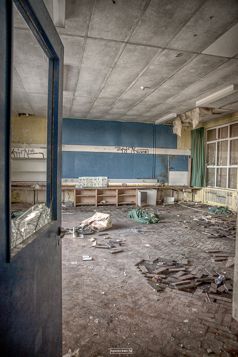 Abandoned Rural Primary School
