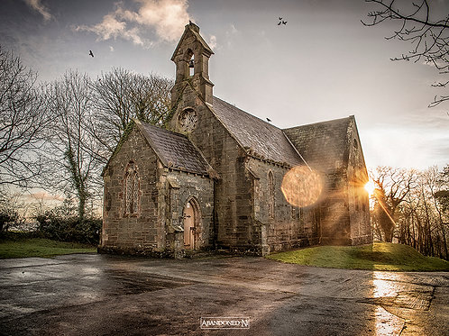 Abandoned Church Sunrise