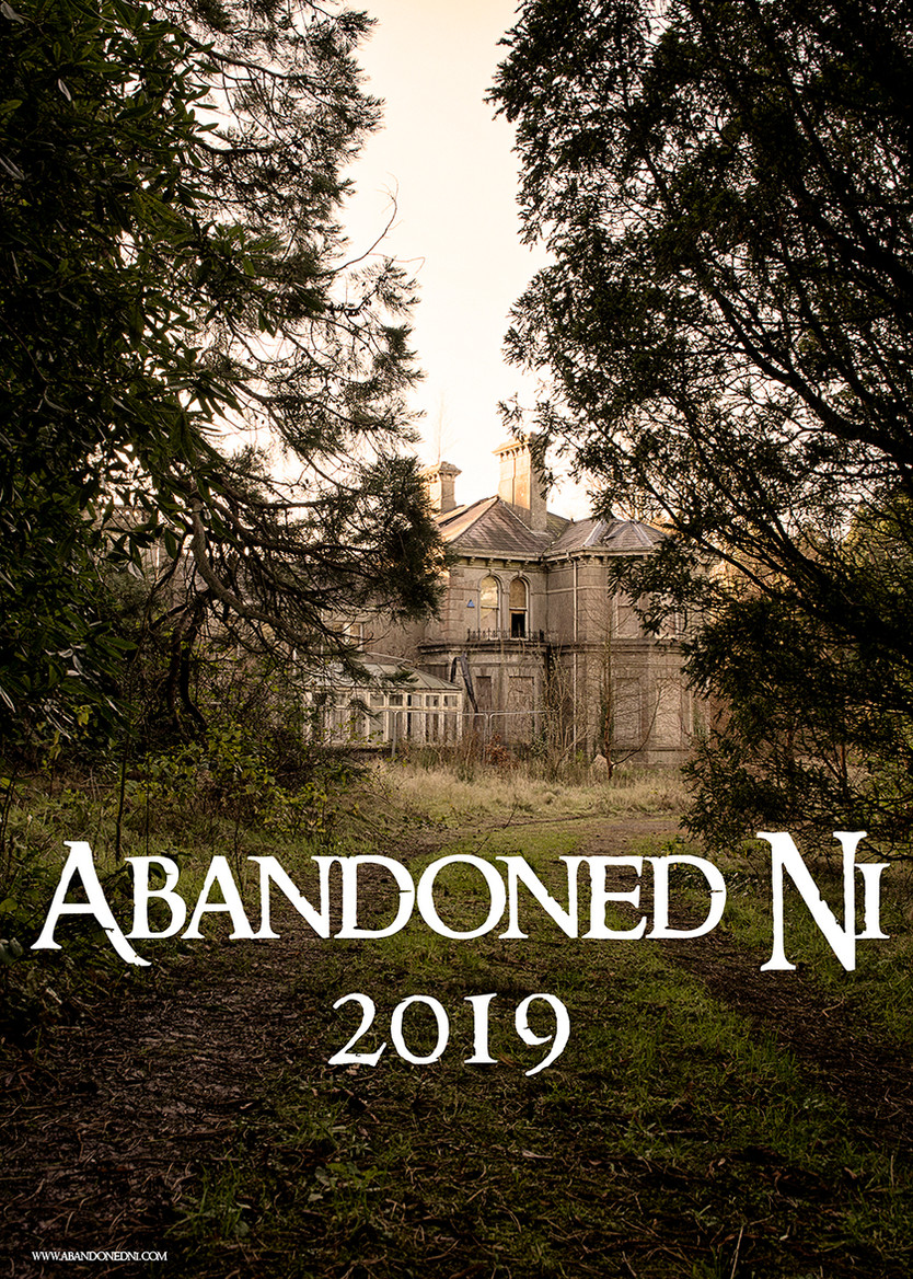 2019 Abandoned Ni Wall Calendar is here!