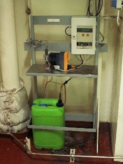 Cooling water automatic montioring system nitrite rocor chemical dosing 24/7