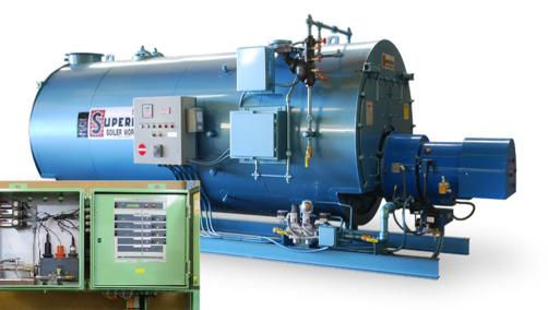 Marine industrial steam boiler 24/7 control monitor dose chemical automatic