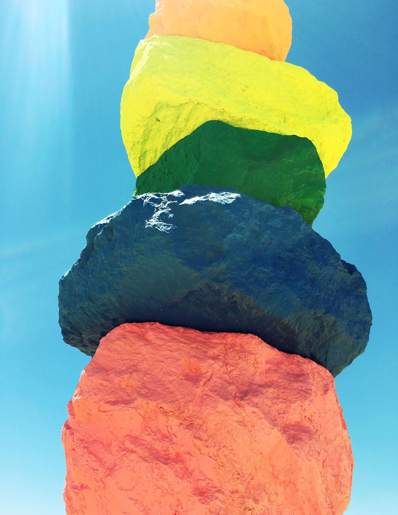 SEVEN MAGIC MOUNTAINS | NEVADA