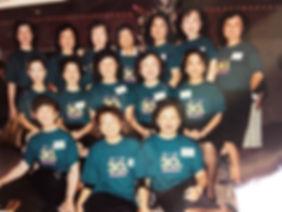 1991年的三十重聚李珠(後排右二) - Shan Lin.JPG