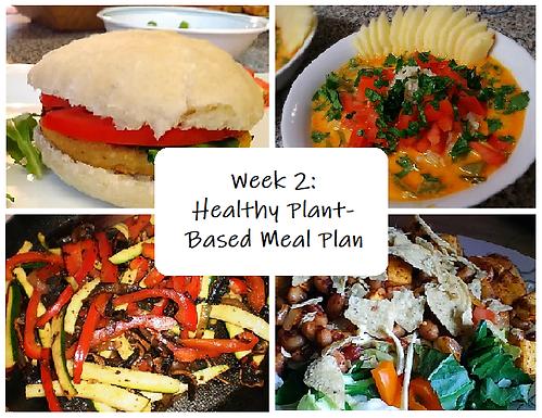 Week 2: A Focus on Healthy Eating