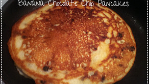 Easy and Delicious Banana Chocolate Chip Pancakes