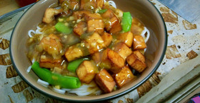Healthier Version of General Tso Tofu