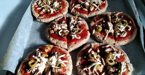 Large Batch Frozen Pizzas to Make Kids School Lunches Easy and Fun