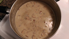 Marvelously Comforting and Creamy Mushroom Soup