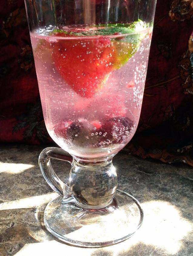 Wild berry Mint
