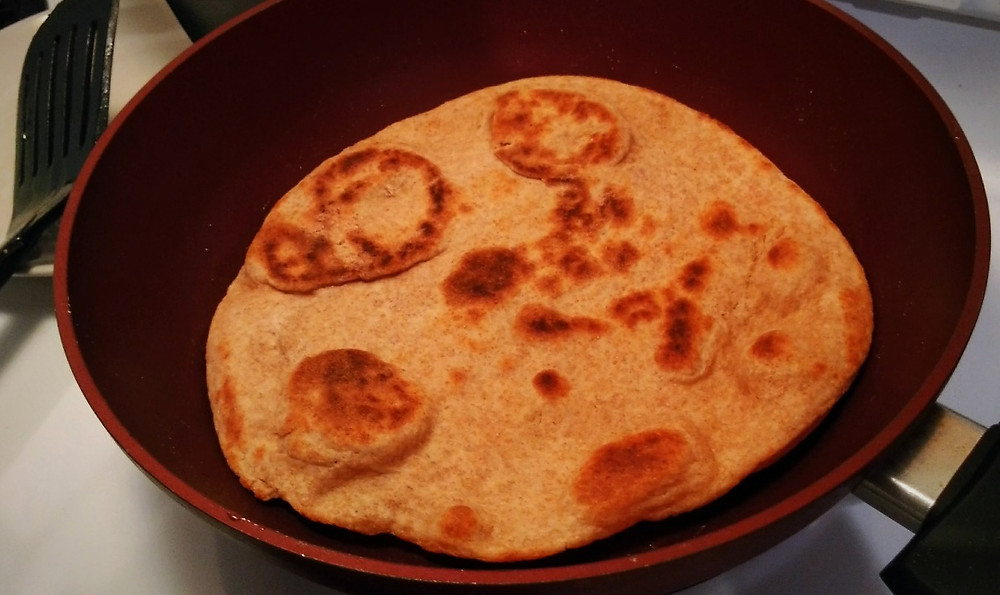 Make your own Naan easily