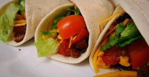 Easy and Kid Friendly Vegan Soft Shelled Tacos