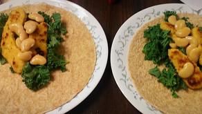 "An Adventure in Drunken Cooking: The Vegan ""Chicken"" Wrap"